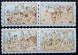 Poštovní známky Kypr 1989 Evropa CEPT, dìtské hry Mi# 715-18