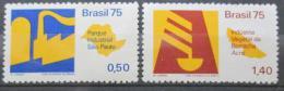 Poštovní známky Brazílie 1975 Ekonomický rozvoj Mi# 1468-69