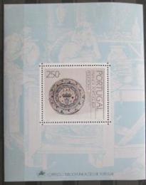 Poštovní známka Portugalsko 1990 Fajánsy Mi# Block 69