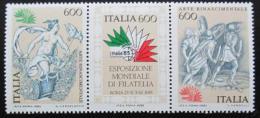 Poštovní známky Itálie 1985 Výstava ITALIA Mi# 1907-09