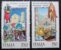 Poštovní známky Itálie 1985 Lidové pøíbìhy Mi# 1920-21