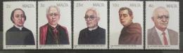 Poštovní známky Malta 1988 Osobnosti Mi# 786-90