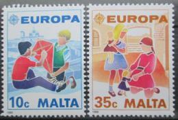 Poštovní známky Malta 1989 Evropa CEPT Mi# 816-17