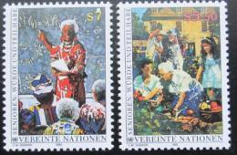 Poštovní známky OSN Vídeò 1993 Dùstojné stáøí Mi# 141-42