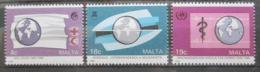 Poštovní známky Malta 1988 Mezinárodní organizace Mi# 796-98