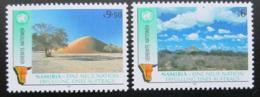 Poštovní známky OSN Vídeò 1991 Nezávislost Namíbie Mi# 114-15