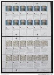 Poštovní známky OSN Ženeva 1990 Lidská práva Mi# 192-93