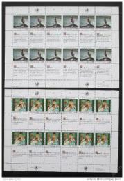 Poštovní známky OSN Ženeva 1989 Lidská práva Mi# 180-81