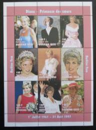 Poštovní známky Burkina Faso 1997 Princezna Diana
