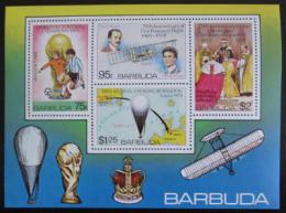 Poštovní známky Barbuda 1978 Výroèí a události Mi# Block 39