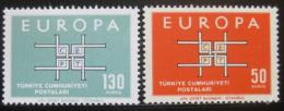 Poštovní známky Turecko 1963 Evropa CEPT Mi# 1888-89