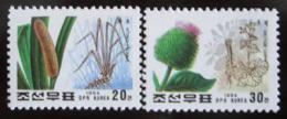 Poštovní známky KLDR 1994 Léèivé rostliny Mi# 3614-15