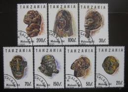 Poštovní známky Tanzánie 1992 Umìní Makonde Mi# 1437-43