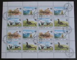 Poštovní známky Azerbajdžán 1994 Tetøívek, WWF Mi# 161-64 Kat 24€