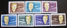 Poštovní známky Maïarsko 1962 Kosmonauti neperf. Mi# 1873-79 B Kat 100€