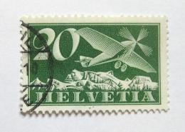 Poštovní známka Švýcarsko 1925 Letadlo Mi# 213