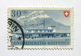 Poštovní známka Švýcarsko 1947 Stanice Fluelen Mi# 483 Kat 14€