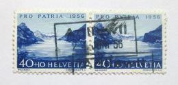 Poštovní známky Švýcarsko 1956 Jezero Wallen Mi# 631 Kat 19€