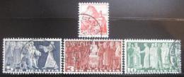 Poštovní známky Švýcarsko 1938 Výroèí Mi# 327-30 Kat 95.60€