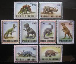 Poštovní známky SAR 1988 Dinosauøi Mi# 1312-19 Kat 17€