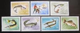 Poštovní známky Maïarsko 1967 Ryby Mi# 2344-50