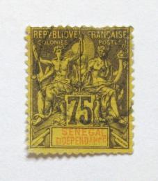 Poštovní známka Senegal 1892 Navigace a obchod Mi# 19 Kat 25€