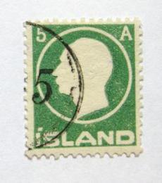 Poštovní známka Island 1912 Král Frederik VIII Mi# 69