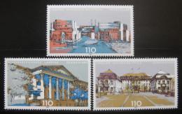 Poštovní známky Nìmecko 2000 Budovy parlamentù Mi# 2104,2110,2129