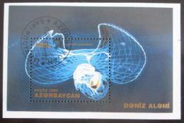 Poštovní známka Azerbajdžán 1995 Moøská fauna Mi# Block 12