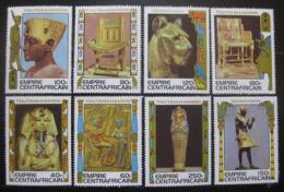 Poštovní známky SAR 1978 Tutanchamon, klenoty Mi# 578-85 Kat 24€