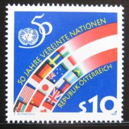Poštovní známka Rakousko 1995 Výroèí OSN Mi# 2162