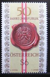 Poštovní známka Rakousko 1995 Druhá republika Mi# 2152