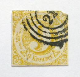 Poštovní známka Thurn a Taxis 1860 Nominální hodnota Mi# 23 Kat 60€