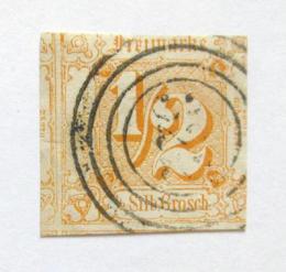 Poštovní známka Thurn a Taxis 1862 Nominální hodnota Mi# 28 Kat 30€