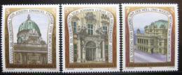 Poštovní známky Rakousko 1993 Slavné budovy Mi# 2084-86