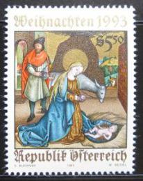 Poštovní známka Rakousko 1993 Vánoce Mi# 2114