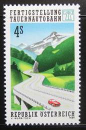 Poštovní známka Rakousko 1988 Tauernská dálnice Mi# 1928