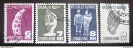 Poštovní známky Grónsko 1977-80 Umìní SC# 102-05