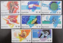 Poštovní známky Rwanda 1981 Komunikace, zdraví Mi# 1127-34