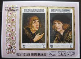 Poštovní známka Aden Qu aiti 1967 Umìní Mi# Block 18 20€