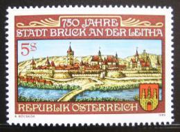 Poštovní známka Rakousko 1989 Bruck an der Leitha Mi# 1949