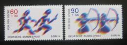 Poštovní známky Západní Berlín 1979 Sporty Mi# 596-97