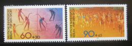 Poštovní známky Západní Berlín 1981 Sporty Mi# 645-46