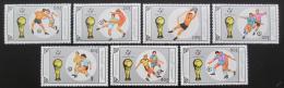 Poštovní známky Mongolsko 1990 MS ve fotbale Mi# 2121-27