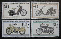 Poštovní známky Západní Berlín 1983 Mototocykly Mi# 694-97 Kat 8€