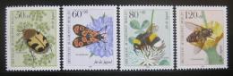 Poštovní známky Západní Berlín 1984 Hmyz Mi# 712-15 Kat 7.50€