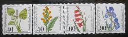 Poštovní známky Západní Berlín 1981 Rostliny Mi# 650-53