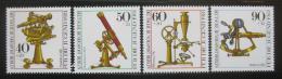 Poštovní známky Západní Berlín 1981 Optické pøístroje Mi# 641-44
