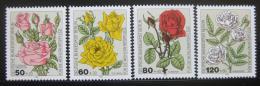 Poštovní známky Západní Berlín 1982 Rùže Mi# 680-83 Kat 7.50€