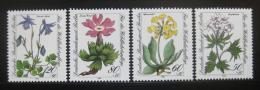 Poštovní známky Západní Berlín 1983 Kvìtiny Mi# 703-06 Kat 7€